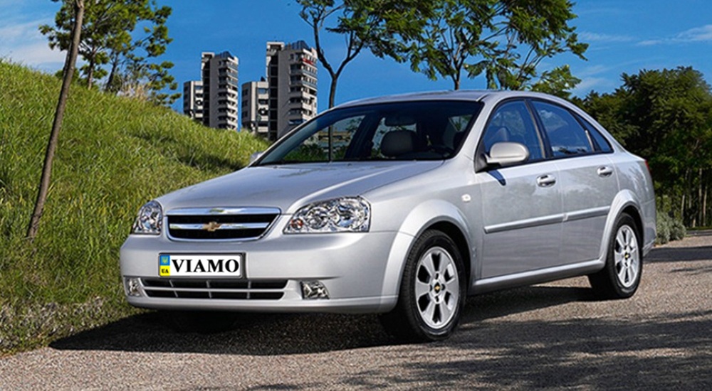 Chevrolet Lacetti in rent from the company «VIAMO rent auto»
