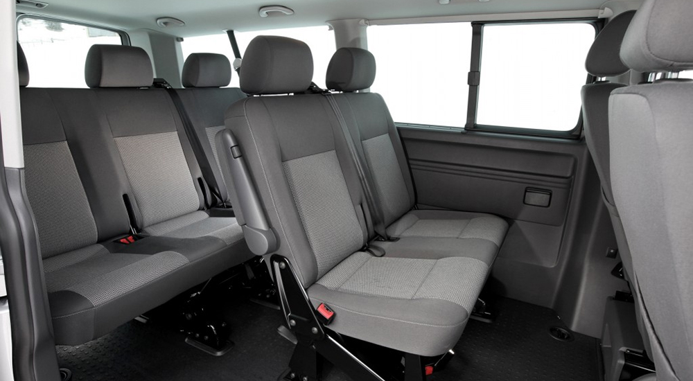 Volkswagen Caravelle in rent from the company «VIAMO rent auto»